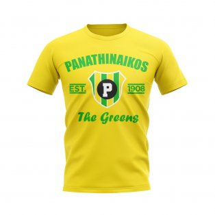 Panathinaikos Established Football T-Shirt (Yellow)