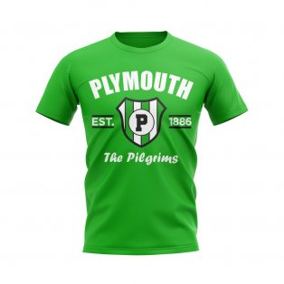 Plymouth Established Football T-Shirt (Green)