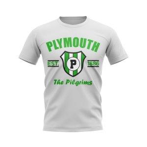 Plymouth Established Football T-Shirt (White)