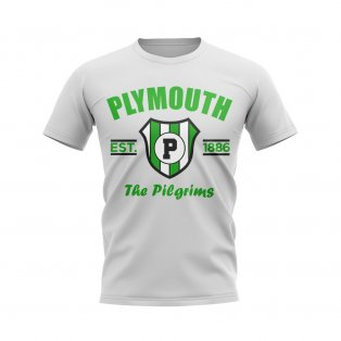 Plymouth Established Football T-Shirt (White)