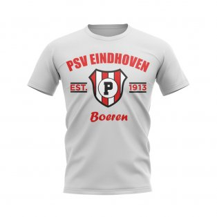 PSV Eindhoven Established Football T-Shirt (White)
