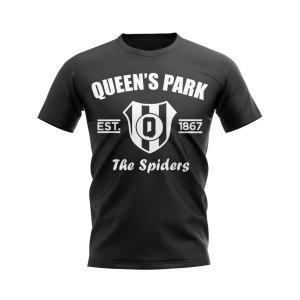 Queens Park Established Football T-Shirt (Black)