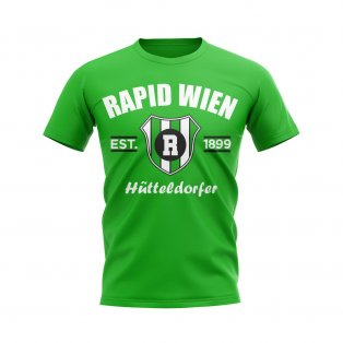 Rapid Wien Established Football T-Shirt (Green)