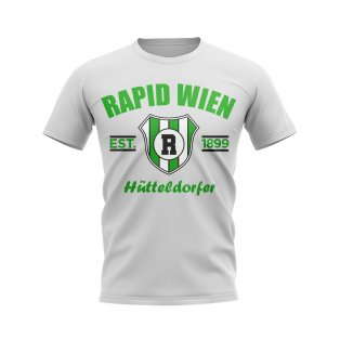 Rapid Wien Established Football T-Shirt (White)