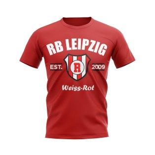 Rb Leipzig Established Football T-Shirt (Red)