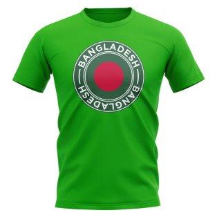 Bangladesh Football Badge T-Shirt (Green)