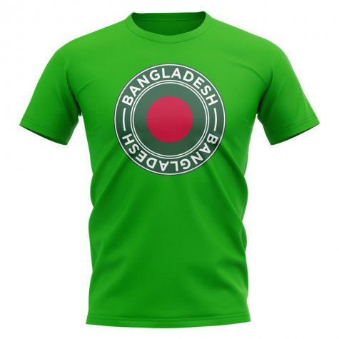 Bangladesh Football Badge T-Shirt (Green)