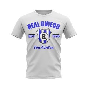 Real Oviedo Established Football T-Shirt (White)