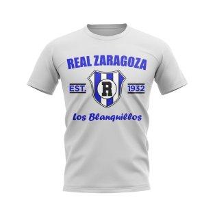 Real Zaragoza Established Football T-Shirt (White)