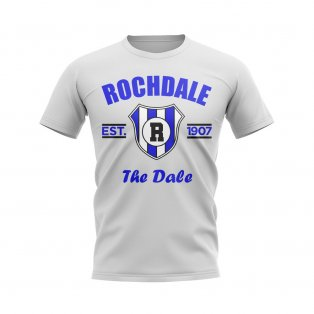 Rochdale Established Football T-Shirt (White)