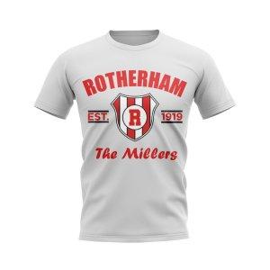 Rotherham Established Football T-Shirt (White)