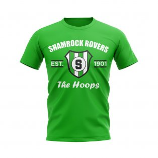 Shamrock Rovers Established Football T-Shirt (Green)
