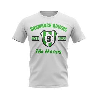 Shamrock Rovers Established Football T-Shirt (White)