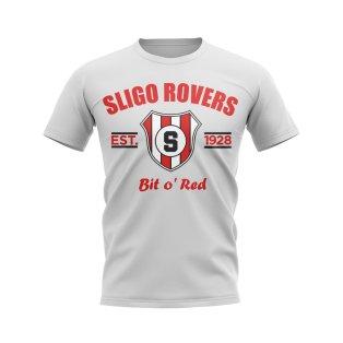 Sligo Rovers Established Football T-Shirt (White)