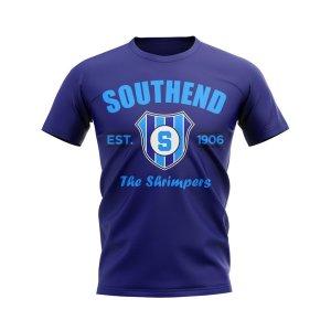 Southend Established Football T-Shirt (Navy)