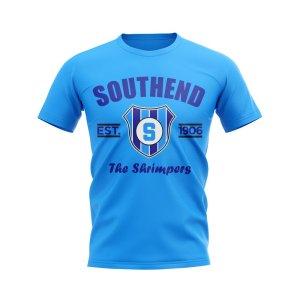Southend Established Football T-Shirt (Sky)