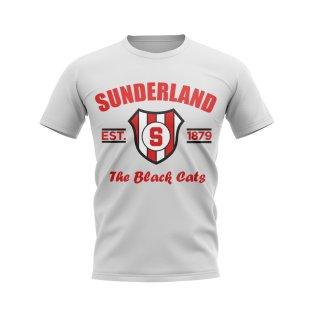 Sunderland Established Football T-Shirt (White)