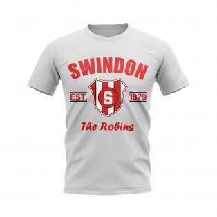 Swindon Established Football T-Shirt (White)