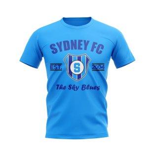 Sydney FC Established Football T-Shirt (Sky)