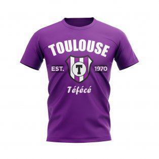 Toulouse Established Football T-Shirt (Purple)