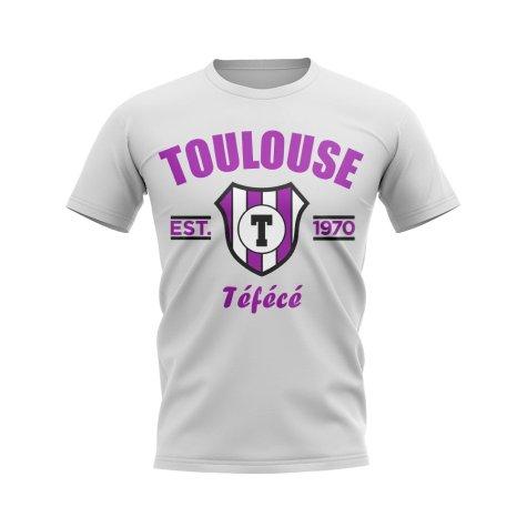 Toulouse Established Football T-Shirt (White)