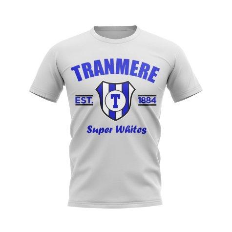 Tranmere Established Football T-Shirt (White)