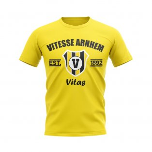 Vitesse Established Football T-Shirt (Yellow)