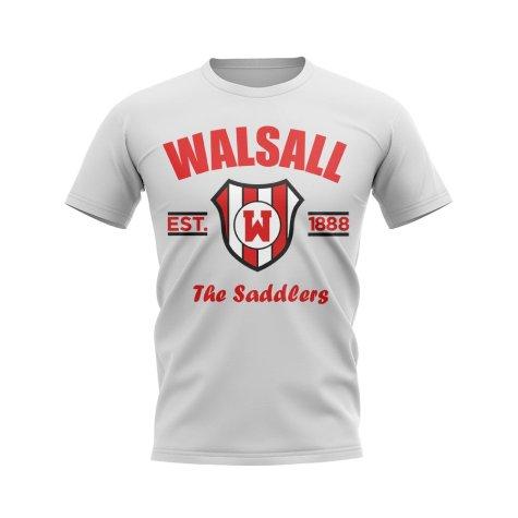 Walsall Established Football T-Shirt (White)
