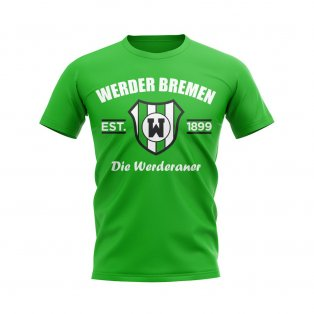 Werder Bremen Established Football T-Shirt (Green)
