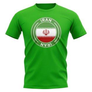 Iran Football Badge T-Shirt (Green)
