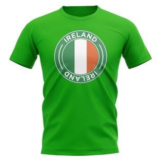 Ireland Football Badge T-Shirt (Green)