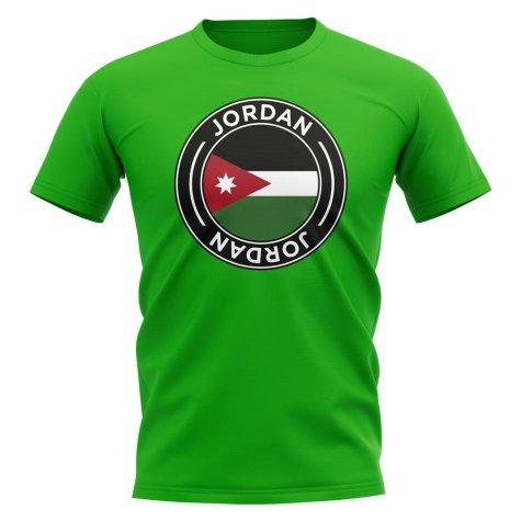 Jordan Football Badge T-Shirt (Green)