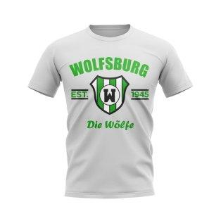 Wolfsburg Established Football T-Shirt (White)