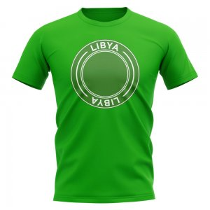 Libya Football Badge T-Shirt (Green)