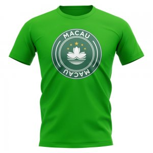 Macau Football Badge T-Shirt (Green)