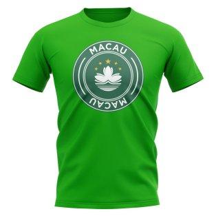 Macau Football Badge T-Shirt (Green)