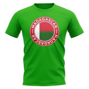 Madagascar Football Badge T-Shirt (Green)