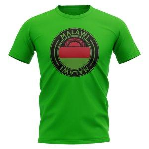 Malawi Football Badge T-Shirt (Green)