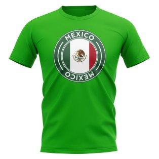 Mexico Football Badge T-Shirt (Green)