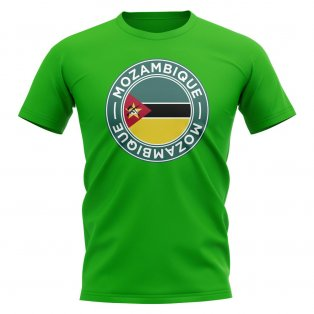 Mozambique Football Badge T-Shirt (Green)