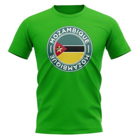 Mozambique Football Badge T-Shirt (Green)