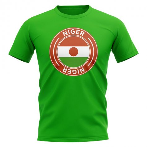 Niger Football Badge T-Shirt (Green)