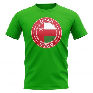 Oman Football Badge T-Shirt (Green)