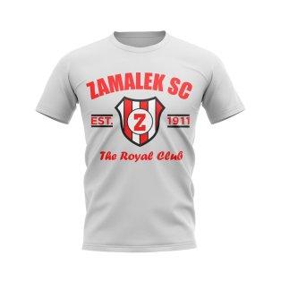 Zamalek SC Established Football T-Shirt (White)