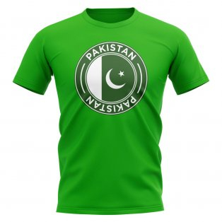 Pakistan Football Badge T-Shirt (Green)