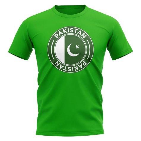 Pakistan Football Badge T-Shirt (Green)