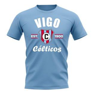 Celta Vigo Established Football T-Shirt (Sky)
