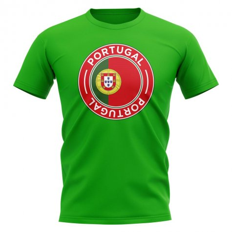 Portugal Football Badge T-Shirt (Green)