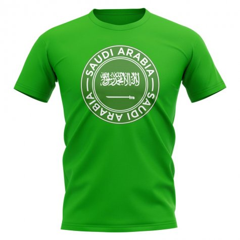 Saudi Arabia Football Badge T-Shirt (Green)