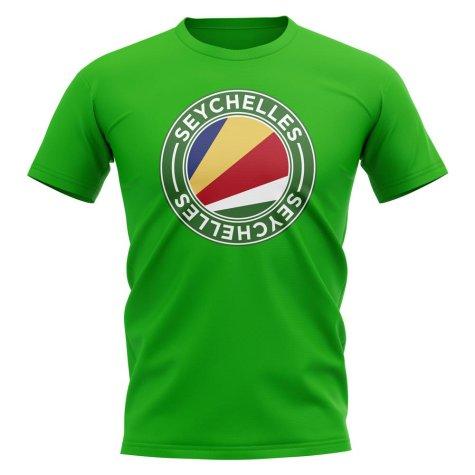 Seychelles Football Badge T-Shirt (Green)